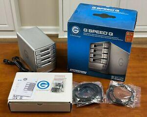 G-Technology G-Speed Q 8TB 4-bay RAID Array with 4x 2TB drives + spare drive