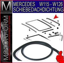 Mercedes W116 280S 280SE 350SE 450SEL 6.9 Dichtung Schiebedach Gummi hinten