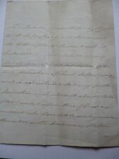 More details for rare antique naval letter from lord melville dated 24th april 1815.