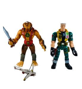 "Small Soldiers Talking Gorgonite Archer Major Chip Hazard 12"" Figure Lot 1998"