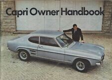 FORD CAPRI MK1 1300 1300GT 1600 1600GT ORIG.'68 OWNER INSTRUCTION HANDBOOK *VGC*