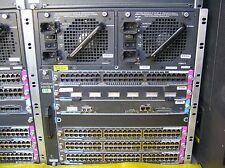 Cisco WS-X4507R-E Chassis, w/ WS-X4515Sup Eng IV 4x WS-X4648-RJ45V Modules