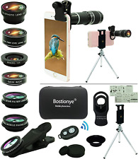 Cell Phone Camera Lens Kit,11 in 1 Universal 20x Zoom Telephoto Lens Brand New