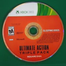 Ultimate Action Triple Pack Sleeping dogs only (Xbox 360, 2015)Disc Only # 14919