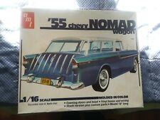 Voiture Chevrolet 1955 Nomad Wagon 1/16 AMT