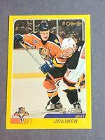 Olli Jokinen Florida Panthers 2003-04 O-Pee-Chee #28 Gold 7/50