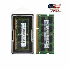 4GB 8GB For Samsung 2Rx8 PC3-10600S DDR3 1333Mhz SODIMM Laptop Memory RAM
