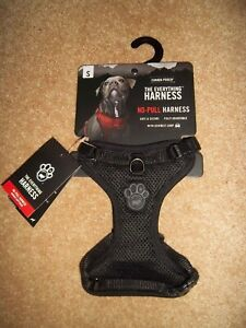 Canada Pooch black mesh dog harness, chest size small 33 - 46 cm new