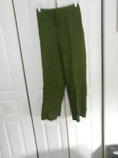 TAHARI---GREEN DRAWSTRING PANTS