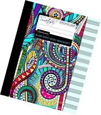 Blank Sheet Music: Music Manuscript Paper / Staff Paper / Musicians Notebook [ B