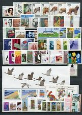 GERMANY 1996 MNH COMMEMORATIVES COMPLETE YEAR 56 Stamps + 2 SHEETS