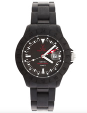 Toy Watch Men's JET03GU Black Plastic Strap Watch 0235