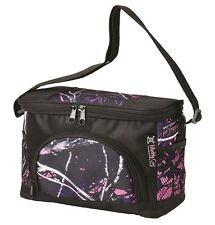Muddy Girl Camouflage Insulated Cooler Bag Lunch Box, Moonshine Pink Purple 6 Pk