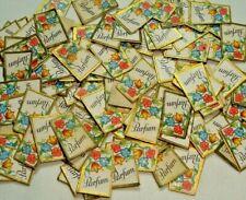 """Parfum"" 100 Vintage Original Litho Druck geprägtem Parfüm Etiketten #6"