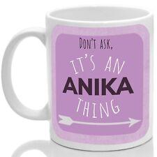 Anika's mug, Its an Anika thing (Pink)