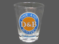 Dave And Busters D&B California Standard Shot Glass Collectible Barware - Nice!