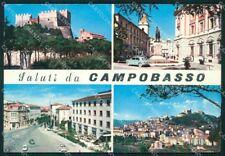 Campobasso Città Saluti da ABRASA Foto FG cartolina ZKM7509