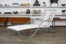 Bronze Patio Chaise Lounge by Walter Lamb for Brown Jordan Vintage 1950s Outdoor