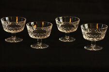 4 petites coupes à fruits, en cristal / 4 small crystal cup, fruit cup...