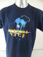 Miami Vice TV Show Vintage Universal Studios Men's XL T Shirt Crockett Tubbs