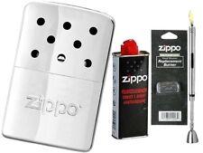 ☆ Zippo ® MINI Handwärmer Chrome  | Taschenofen | Handwarmer & Zubehör Set ☆