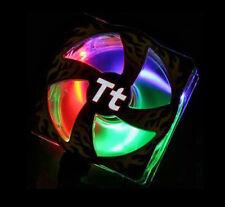 NEW Thermaltake Fireball 80mm EL & LED Fan Blue Green Red LEDs A1654