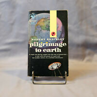 Pilgrimage to Earth by Robert Sheckley - Vintage SciFi Book - FREE SHIPPING!!