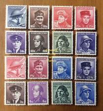 EBS Czechoslovakia 1945 Czech Heroes Fallen in Allied Services 439-454 MNH**