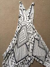 Topshop polka dot dress 10 New