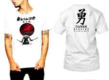 Samurai T-Shirt Japanese Shogun Assassins Bushido Anime Katana Ninja tee