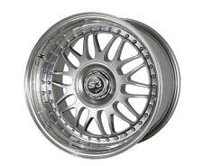S3 Edition 10X17 LK 5/112  zweiteilig Silber/Hornpoliert