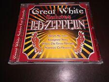 GREAT WHITE - SALUTES LED ZEPPELIN - CD