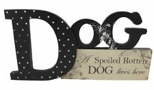 Dog Dogs & Puppies Decorative Indoor Signs/Plaques