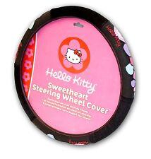 Hello Kitty Steering Wheel Cover Pink Custom Cute Sweetheart New Free Shipping