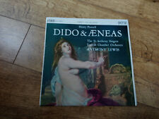 Henry Purcell – Dido And Aeneas UK vinyl LP