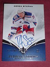 10-11 Ultimate Rookies Derek Stepan Autograph RC 21/299 1/1 His Jersey #  L@@K!