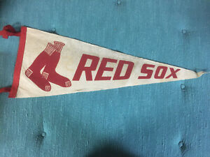 1950's ERA RED SOX FULL SIZE PENNANT