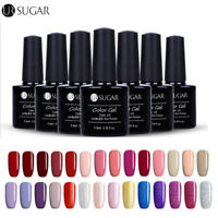 7.5ml Glitter Nail Art UV LED Gel Color Polish Soak Off Gel Varnish DIY UR SUGAR