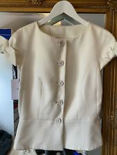 Christian Dior White Top Brand New With Tags Size 40