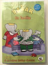 Babar en famille volume 1 DVD NEUF SOUS BLISTER