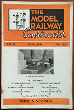 The Model Railway Constructor Vol. 11, No. 123, June 1944