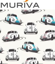 Muriva Beetle Car Wallpaper Boys Bedroom Racing Cars Retro VW Vehicles Speed Bug