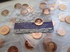 UK-Nachweis Penny 1p Neuzustand! 1970 2010 hervorragender zustand VERSCHIEDENE