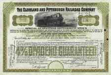 Cleveland Pittsburgh Railroad 1939 Rochester Ohio Pennsylvania Betterment Stock