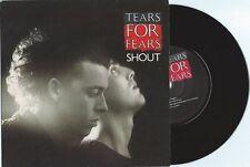 """Tears For Fears """"Shout"""" 7"""" OOP UK flipback"""