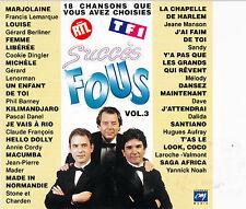 CD 18T SUCCES FOUS CLAUDE FRANCOIS/DALIDA/DAVE/DANEL/AUFRAY/DINGLER/MANSON/NOAH