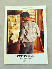 F095 - Advertising Pubblicità - 1992 - TORQUOISE WORLD TRIBES