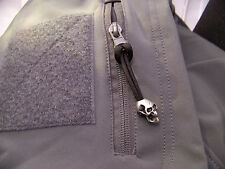 TACTICAL SKULL ZIPPER PULL. For JACKETS, BACKPACKS,BUG OUT BAGS. elk hunting