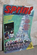SPRINT International - N°67 - Juin 1986 - Cyclisme Vélo - Jean-Claude Leclercq