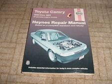 1983-1991 HAYNES REPAIR MANUAL TOYOTA CAMRY